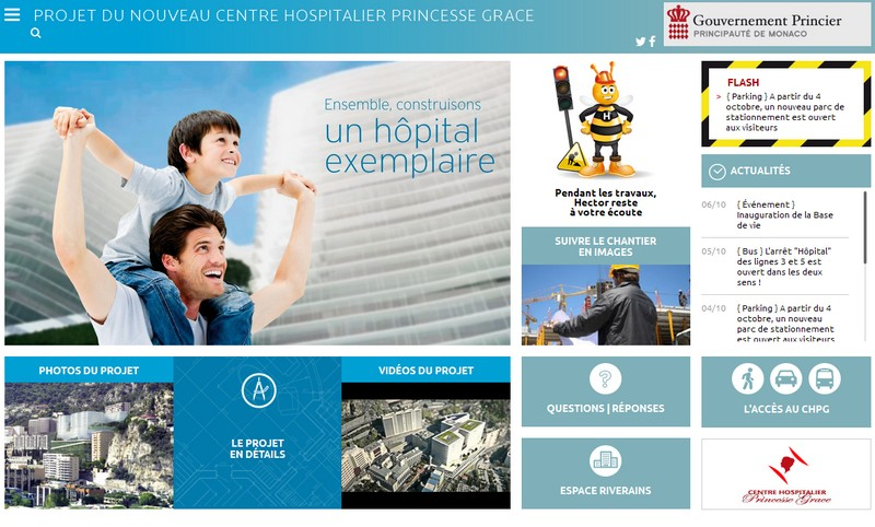 Site CHPG - nouvel Hopital