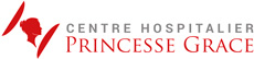 Logo Centre Hospitalier Princesse Grace